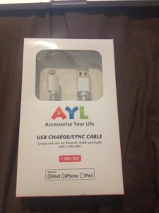 Accessorize Your Life USB Charge/Sync Cable 1